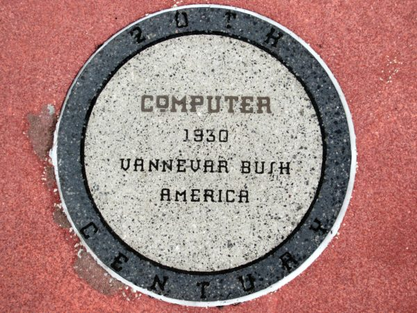 When computers were first built in the 1930s, they could only perform equations. Vannevar Bush was the first person to develop such a computer. Even the early computers seen in Spaceship Earth and The Carousel of Progress are much more advanced than their processors.