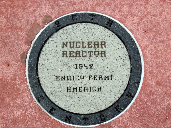 Nuclear reactors are used in nuclear power plants to harness atomic energy (above) and provide electricity. This is all thanks to Enrico Fermi who invented the nuclear reactor in 1942.