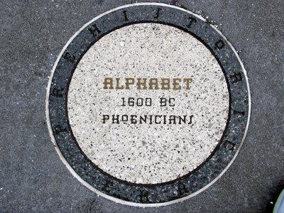 Inventors Circle Alphabet