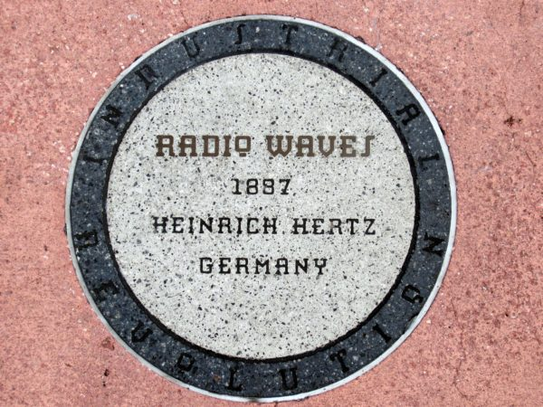 "Radio Waves were discovered by Heinrich Hertz in 1887. In fact, even today, the frequencies of radio waves are measured in ""hertz"" or ""hz""."