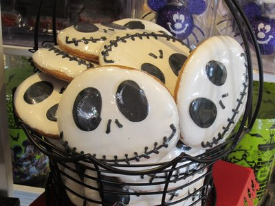 From Jack Skellington sugar cookies...