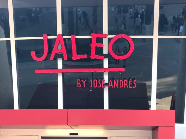 This is the fifth and largest Jaleo location to date!