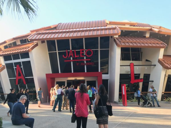 Jaleo by Jose Andres is now open.