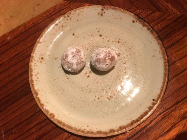 Bonus truffle balls!