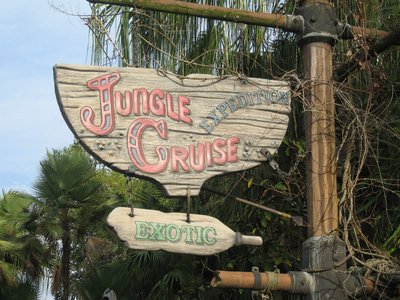 The Jungle Cruise is a Disney classic and great fun for everyone in the family.