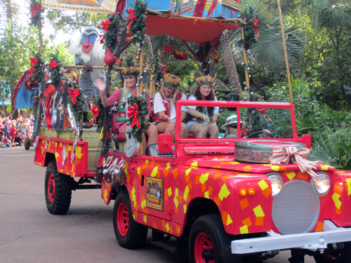 Mickey's Jammin' Jungle Parade was a favorite among Animal Kingdom guests.
