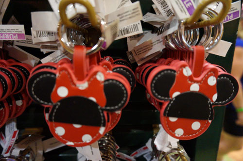 Minnie key chain.