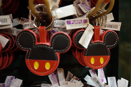 Mickey key chain.