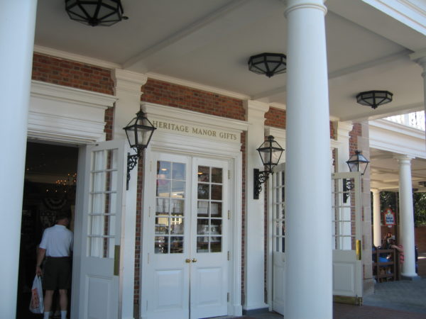 Others are right out in the open like the one on the porch in American Adventure.
