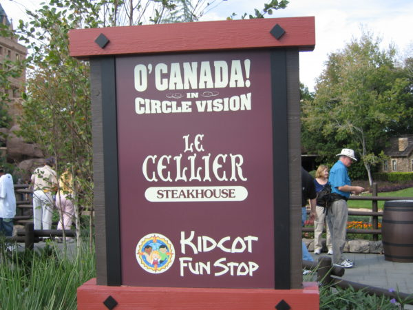 All of the country pavilions in World Showcase have a Kidcot Fun Stop!