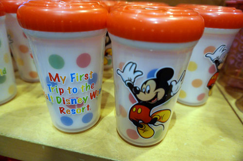A cup for a kid's first trip to Disney World!