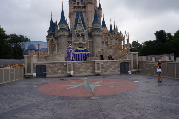 Imagine proposing or getting married in front of Cinderella Castle!
