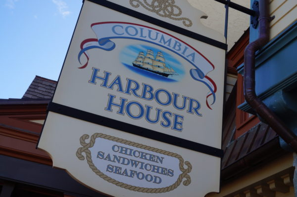 Columbia Harbour House sells authentic colonial American food.