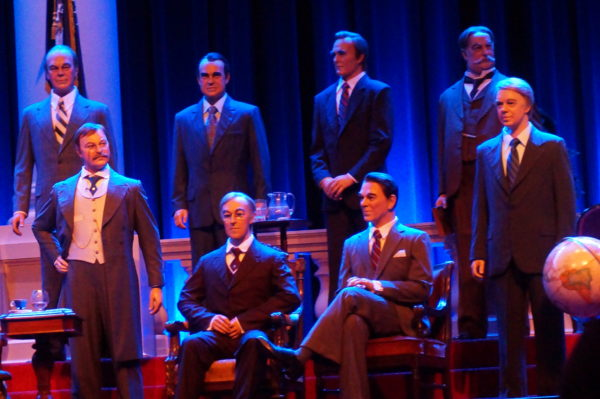 Hall of Presidents features figures of all the men who have held the highest office in the land.