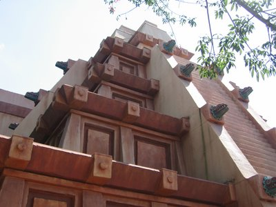 Enjoy a break inside the great pyramid at La Cava de Tequila in Epcot's Mexican Pavilion.