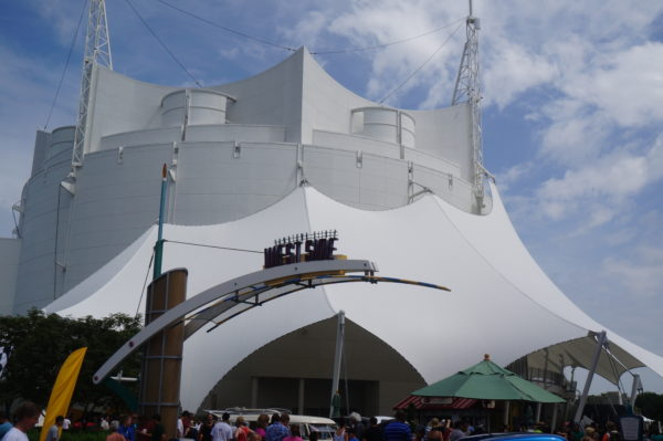 Hopefully the signature white tent will see a new show in 2018.