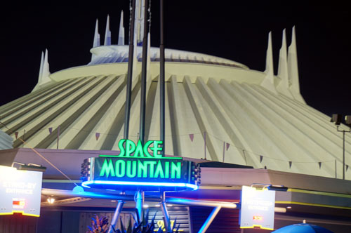 Space Mountain.