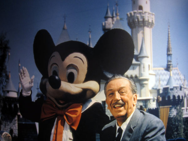 Walt made Mickey and Mickey made Walt!