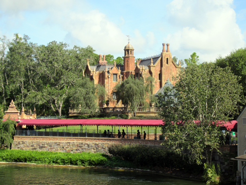 "The current attraction sails past ""landmarks"" and tells stories of each one during the journey."