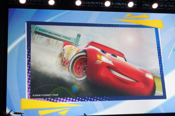 The new Lightning McQueen show will also include Tow Mater and Cruz Ramirez.