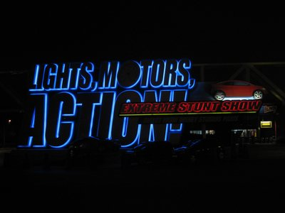 Lights, Motors, Action lives us to its name with plenty of thrills.