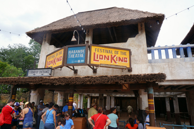 New home for the Festival of the Lion King.