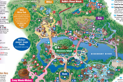 Here is the old Guide Map that still shows Camp Mickey Minnie in the bottom left.
