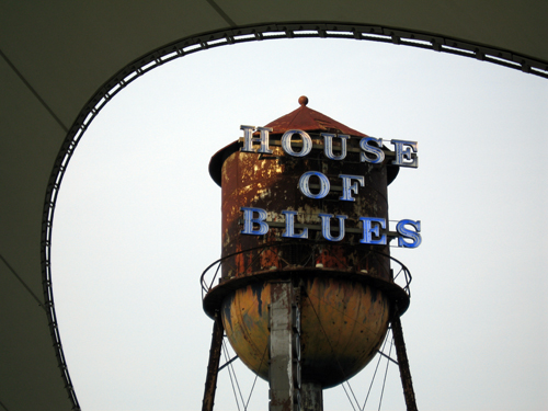 Don't miss the fun night-life at Disney Springs's House of Blues.