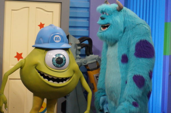 Meet Mike and Sulley inside Walt Disney Presents!