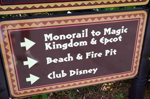 You are just a monorail ride away from Epcot and the Magic Kingdom.