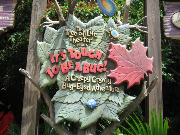 It's Tough to be a Bug is hidden under the tree of life, and the wait time is usually short!