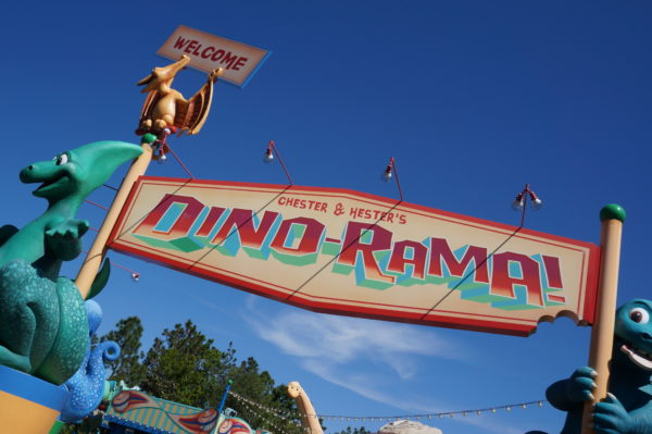 Perhaps Dino-Rama is rated so low because visitors don't understand the backstory.