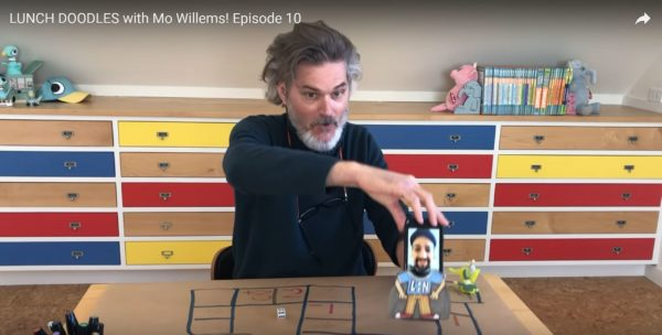 Have some fun with author Mo Willems. Photo credits (C) Disney Enterprises, Inc. All Rights Reserved