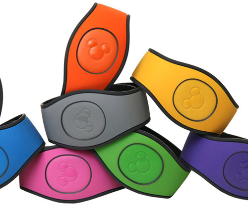 The new MagicBand design is more comfortable. Photo credits (C) Disney Enterprises, Inc. All Rights Reserved