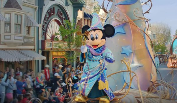 Now you can watch Disneyland's latest parade online.