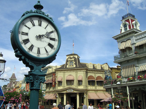 You can easily wander around the Magic Kingdom, without taking in any attractions, and have a great time.
