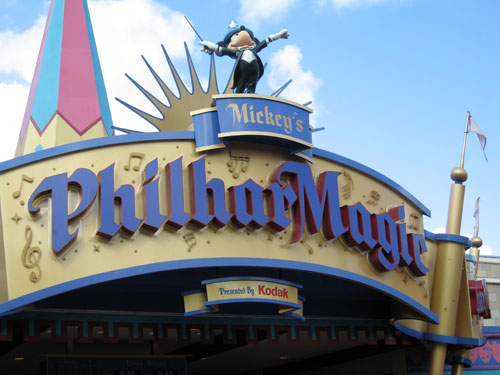 Most kids will enjoy the music and color of Mickey's Philharmagic.