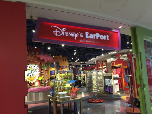 The Magic of Disney store may have closed, but Disney's Earport is still open!