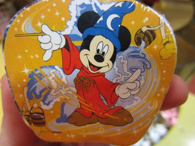 Mickey Mouse as Sorcerer magic towel.