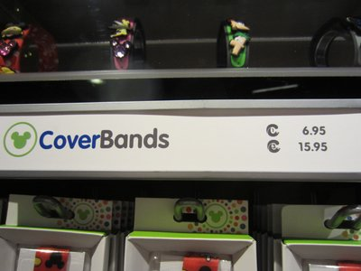 MagicBand Cover Ups or Cover Bands.