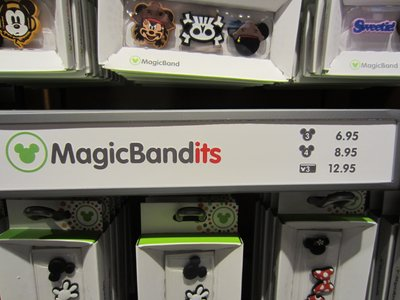MagicBand MagicBandits decorative accessories.