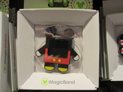 This style of Mickey Mouse MagicSlider was the one most often on display.