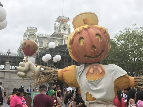 The scarecrow people are back on Town Square.