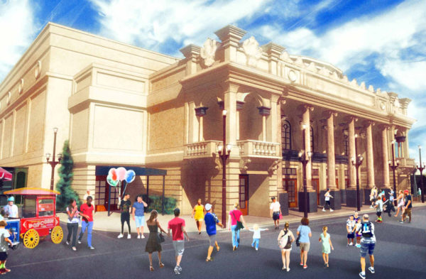 Disney will offer live entertainment in a new theater near Main Street USA. Photo credits (C) Disney Enterprises, Inc. All Rights Reserved.