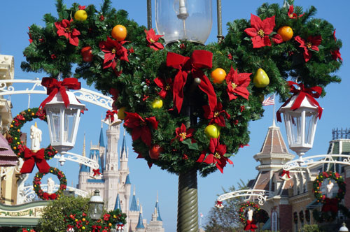 I like this Mickey wreath.