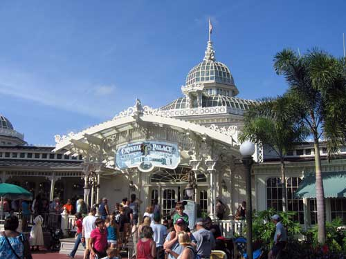 Great food and time with characters make The Crystal Palace a favorite.