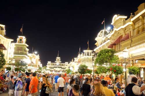 Main Street is impressive day or night.