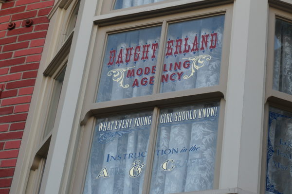 The men honored in this window were specialists in finishes. You can thank them, in part, for all those Hidden Mickeys in the rock work and designs!