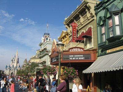 Main Street USA serves as the main entrance to the Magic Kingdom.