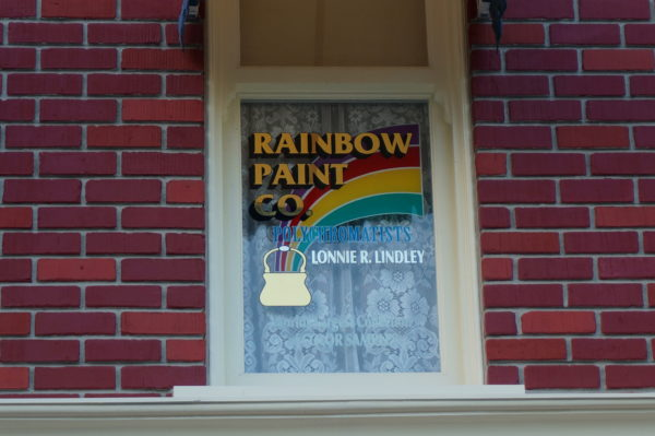 Lonnie R. Lindley was the head of the Walt Disney World Paint Shop, and he did, indeed, have the largest collection of color samples at his disposal!